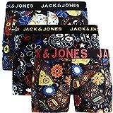 Jack & Jones - Calzoncillos tipo bóxer para hombre, 3 unidades, mezcla de algodón @2 M