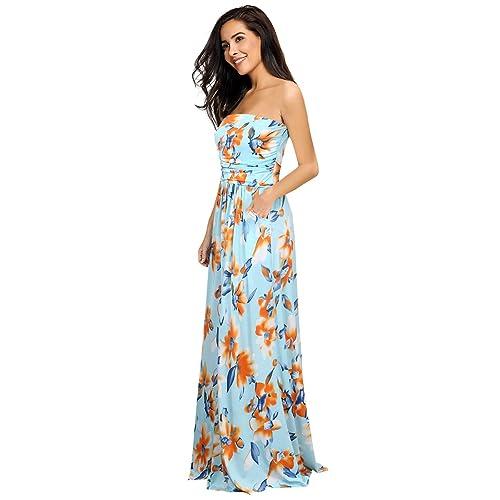 Long Hawaiian Dresses: Amazon.com