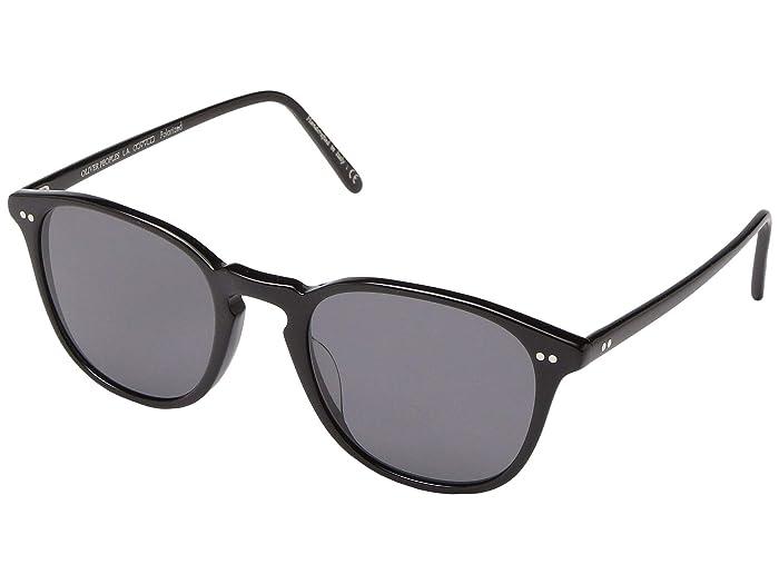 Oliver Peoples Forman L.A (Black) Fashion Sunglasses