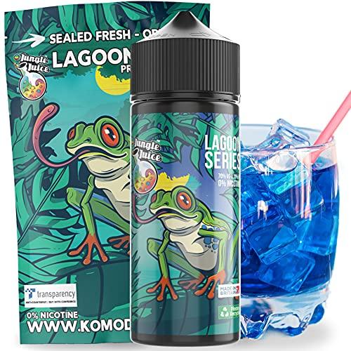 Nicotine free | 120ml (100ML base liquid)Jungle Juice Vape | Blue E Liquid...