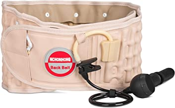 Physical Decompression Back Belt by GINEKOO -Spinal Air Traction Belt for Lower Back Pain..