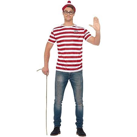 Smiffys Unisex Smiffys Officially Licensed Where's Wally? Kit Officially Licensed Where's Wally? Kit