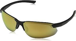 Smith Parallel Max 2 20190700371A2 Unisex Matte Black Frame Gold Mirror Polarized Lens Sports Sunglasses