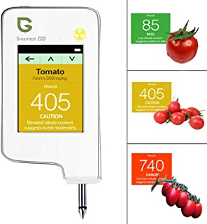 Greentest, High Accuracy Food Detector, Nitrate Tester for Fruit and Vegetable (Version 2, White, 1)