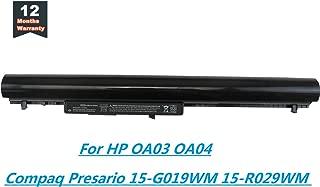 Yongerwy OA03 OA04 Laptop Battery for HP Compaq CQ14 CQ15 Pavilion 15-G020DX 15-R029WM 15-R030WM Compatible with 740715-001 746458-421 746641-001 751906-541 HSTNN-LB5Y HSTNN-LB5S HSTNN-PB5Y