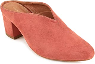 Chumbak Blooming Whispers Dusty Pink Heels - 40