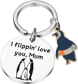 PLITI Penguin Keychain Gifts Penguin Lovers Gift for Mom Penguin Fans Gift