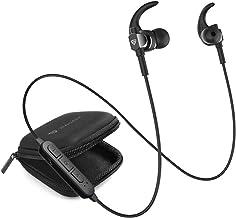 RAEGR AirBeats 250 Wireless Earphones, Bluetooth Earphones 6H Playtime with 110mAh Battery, IPX 4 Bluetooth Headphones with Mic Wireless Headphones - Black RG10092