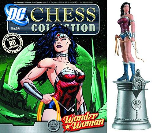 dc comics Chess Figurine Collection Nº 34 Wonder Woman