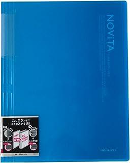コクヨ ファイル クリアファイル ノビータ 固定式 A4 20ポケット ライトブルー ラ-N20LB