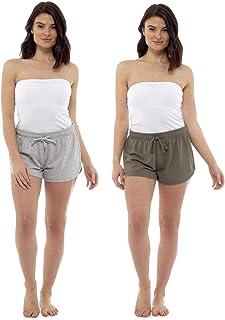 City Comfort Ladies Pack Of 2Beach Shorts