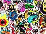 25 Random Pop Art Graffiti Cool Stickers Dope Decals for Skateboard Laptop Car Bumper Sticker Lot Set Bomb for Kids Teens