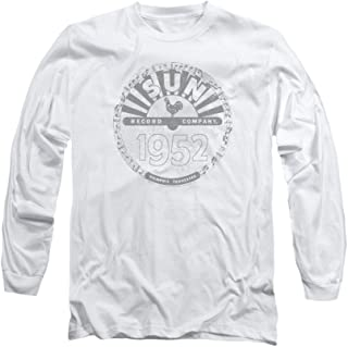 Sun Records Crusty Logo Adult Long-Sleeve T-Shirt