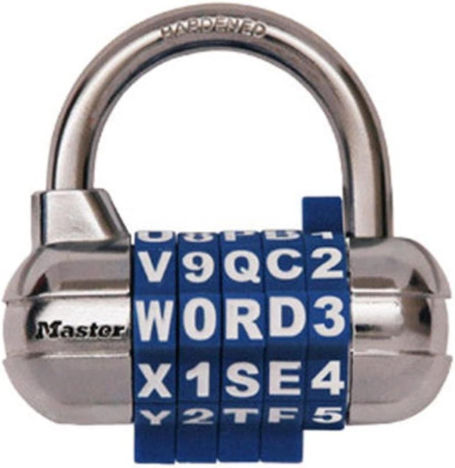 Master Lock 1534D Locker depot Set Own Award-winning store Padl Your Combination Word