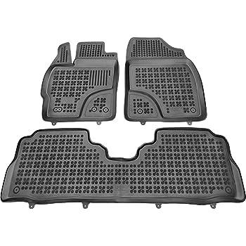Cadeau Rezaw Tapis de Sol en Caoutchouc Compatible avec Toyota Prius+ 2012-2015 + nettoyant en Plastique