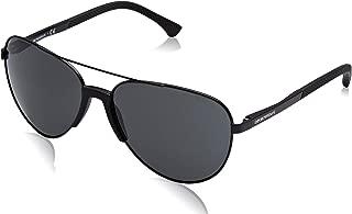 Kính mắt cao cấp nam – sunglasses (EA-2059 320387) Black – Grey lenses