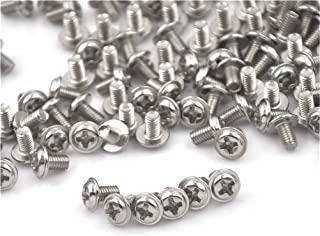 Length : 25mm YJZG 100Pcs//Lot 12mm Diameter Stainless Steel Cap Cover Decorative Mirror Screws Display Mirror