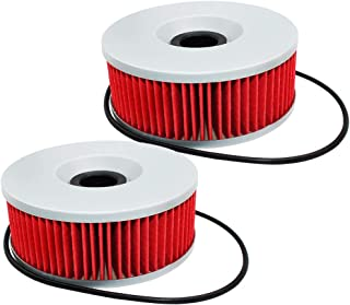 2 Pack Yerbay Motorcycle Oil Filter for Yamaha XS-850 XS 850 XS850L XS850 L XS850S 1980 1981