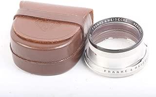 ROLLEIFLEX Bay 1 ROLLEINAR 1 Lens in Leather Original CASE
