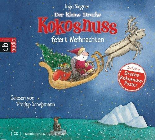 Der kleine Drache Kokosnuss feiert Weihnachten von Siegner. Ingo (2010) Audio CD