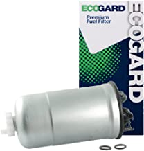 ECOGARD XF65428 Diesel Fuel Filter - Premium Replacement Fits Volkswagen Jetta, Beetle, Golf, Passat