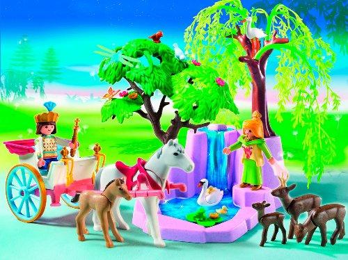 PLAYMOBIL® 5021 - Prinzenpaar mit Kutsche und Wasserfall