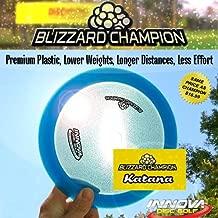 Blizzard Champion Katana 130 to 139 Disc Golf Driver (disc colors vary)