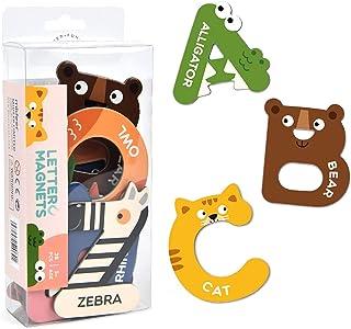 YHomU Toddler Baby Infant Babies Development Child Teaching Alphabet Kids Fridge Magnet Set Magnetic Colorful Numbers Funn...