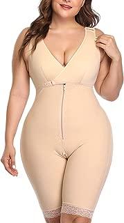 RIBIKA Women Waist Slimming Open-Bust Underwear Butt Lifter Plus Size Full Body Shapewear