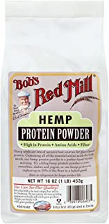 Bobs Red Mill Hemp Protein Pow 16.0 OZ(Pack of 3)