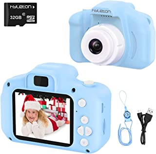 Digital Camera for Kids,hyleton 1080P FHD Kids Digital Video Camera with 2 Inch IPS Screen and 32GB SD Card for 3-10 Years...
