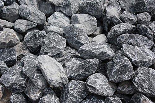 Gartenwelt Riegelsberger Ziersplitt Bruchstein grau 50-100 mm, 25 kg Sack, Splitt, Gabionenfüllung, Gabione, Kies