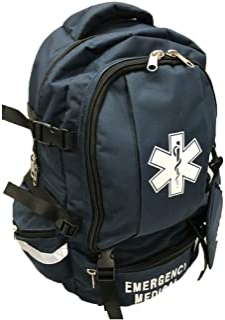 LINE2design EMS، EMT اورژانس اول پاسخ دهنده Deluxe کمک های اولیه کوله پشتی پزشکی تروما - نیروی دریایی آبی