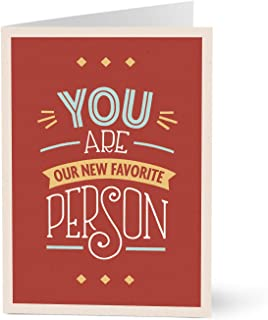 Hallmark Business Welcome Card for Customers (First Day Favorites) (Pack of 25 Greeting Cards)