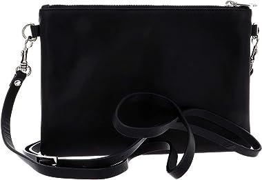 Esquire Silk Small Crossbody Bag Black