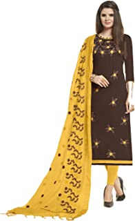 587932d40e8 Amazon.in: Browns - Dress Material / Ethnic Wear: Clothing & Accessories