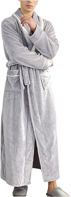 Winter Sleepwear for Max 57% OFF Women Full Warm Nightgown Fleec Length Long San Jose Mall