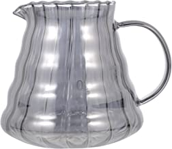 BESTonZON Szklany dzbanek do kawy Server kawa karafka garnek do wody karafka do napojów gorąca zimna woda dzbanek do soku ...