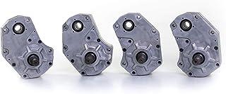 "SuperATV 6"" Cast Aluminum Portal Gear Lift for Polaris RZR XP Turbo / 4 Turbo (2017+) - 45% Gear Reduction - No Frame Stiffener - 100% Complete Kit"