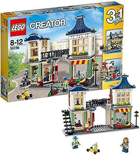 venta LEGO Pequeña Tienda de Juguetes Tiendas Creadores y y y la Ciudad 31036  grandes ofertas