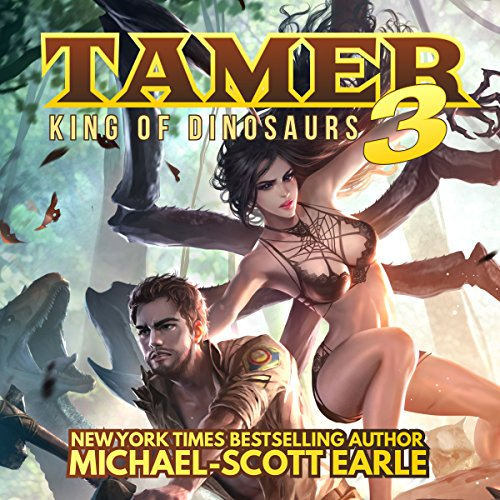 Tamer: King of Dinosaurs 3 audiobook cover art