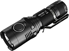 Nitecore MH20GT CREE XP-L HI V3 USB Rechargeable EDC Flashlight, 414 yd, 1000 lm