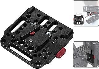 V-Lock Assembly Kit Female V-Dock Male V-Lock Quick Release Plate for V-Mount Battery