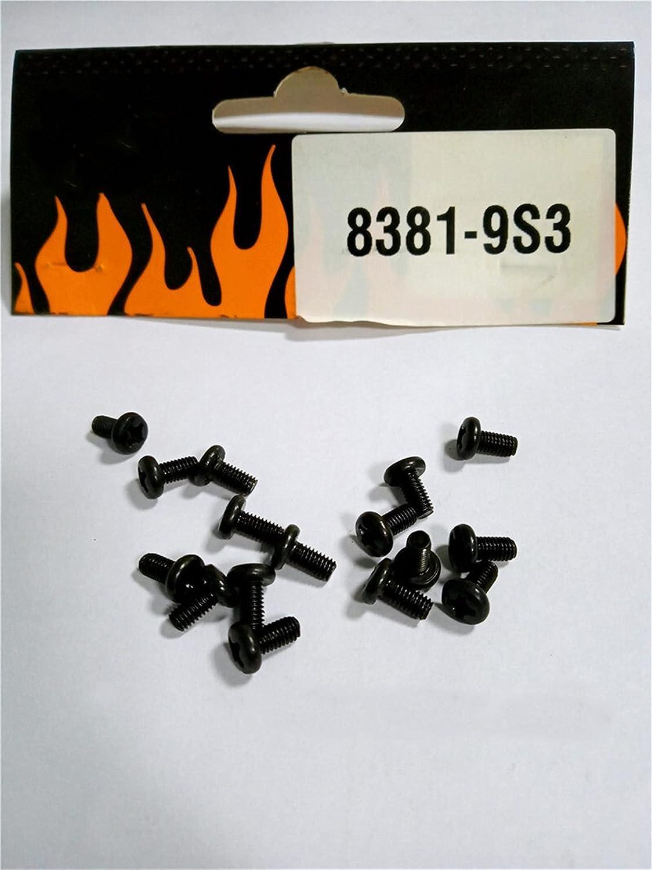Max 59% OFF Super beauty product restock quality top XINGLAI 16Pcs for DHK Rc Car BM36mm Parts Screw Head 8381-9S3 B