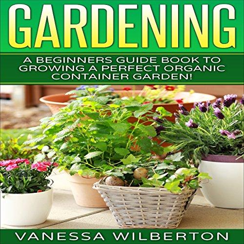 Container Gardening audiobook cover art