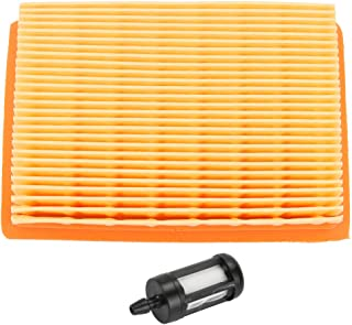 Trustsheer 4203 141 0301 Air Filter with Fuel Filter for STIHL BR340 BR340L BR400 BR420 BR420C BR320 BR380 SR320 SR340 SR380 SR400 SR420 Blower 4203 007 1028