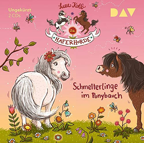 Die Haferhorde – Teil 4: Schmetterlinge im Ponybauch: Ungekürzte Lesung mit Bürger Lars Dietrich (2 CDs) (Die Haferhorde: Ungkürzte Lesungen mit Bürger Lars Dietrich)