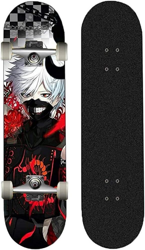 Dmxiezib Standard Skateboard Animation Online limited free shipping product Tokyo M Ken Kaneki Ghoul
