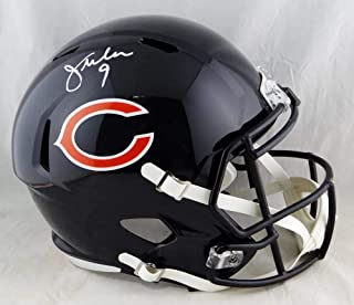 Jim McMahon Autographed Chicago Bears Full Size Speed Helmet- Beckett Auth White
