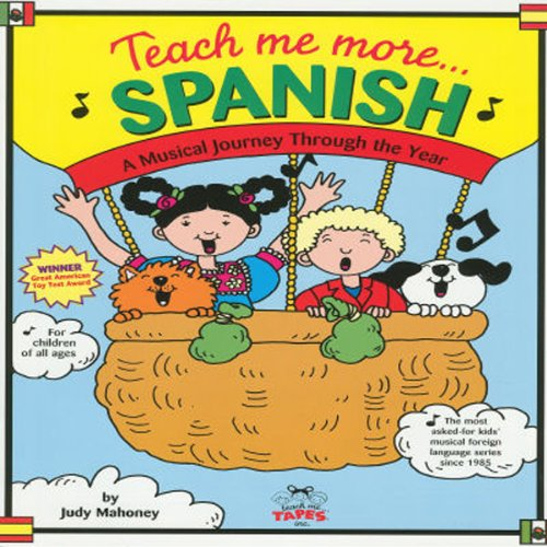 Teach Me More Spanish audiobook cover art